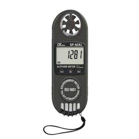 Máy đo áp suất, tốc độ gió, độ cao mực nước biển (3 in 1) LUTRON SP-82AL