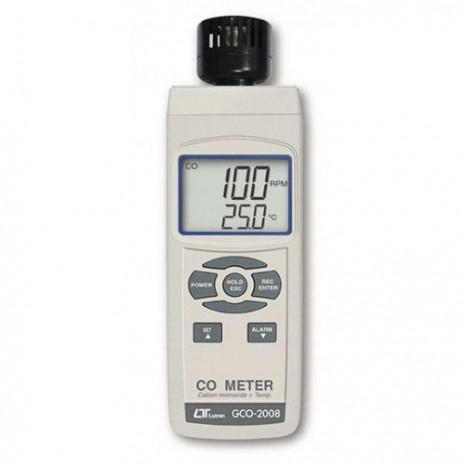 Máy đo nồng độ khí CO, nhiệt độ môi trường LUTRON GCO-2008